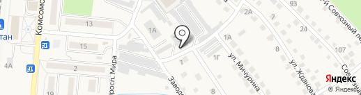 ЖКУ-Калтан на карте Калтана