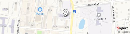 Детский сад №24, Белочка на карте Калтана