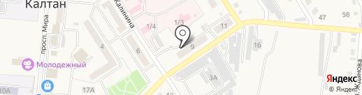 Феникс, ТСЖ на карте Калтана