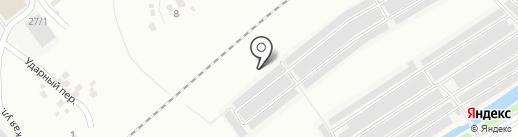 Автокредо на карте Новокузнецка