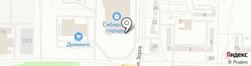 La pizza на карте Новокузнецка
