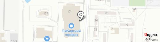Мед на карте Новокузнецка