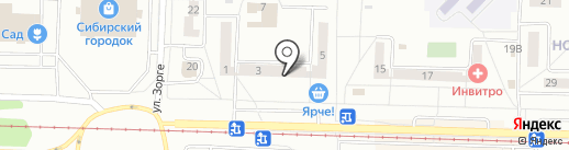 Назаренко О.А. на карте Новокузнецка