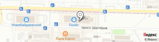 Lion на карте Новокузнецка