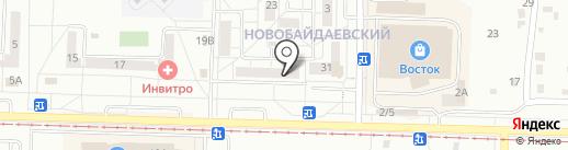Бонжур на карте Новокузнецка