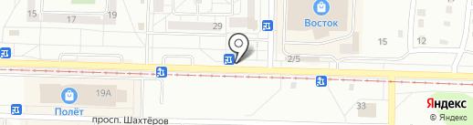 Ботаника на карте Новокузнецка