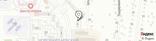 Фонд развития жилищного строительства Кемеровской области, НО на карте Новокузнецка