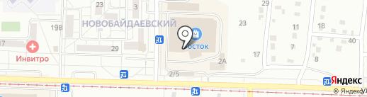 Магазин верхней одежды на карте Новокузнецка