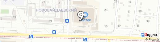 Табачный магазин на карте Новокузнецка