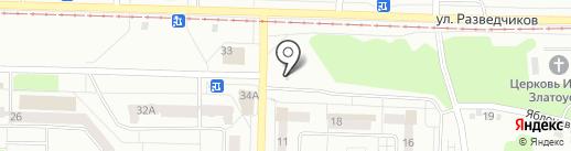 Кафе быстрого питания на карте Новокузнецка