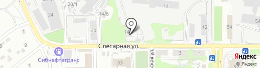 НК-Строй Лес на карте Новокузнецка