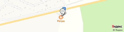 РЕТРО на карте Калтана