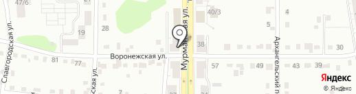 Гастроном на карте Новокузнецка