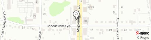 Мастерская по ремонту обуви на карте Новокузнецка