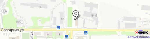 Автодонор на карте Новокузнецка