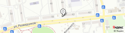 Аптеки Кузбасса на карте Новокузнецка