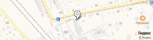 Магазин одежды и текстиля для дома на карте Осинников