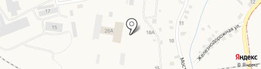Столярный цех на карте Осинников