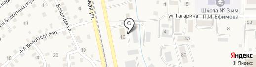 Рено-Лидер на карте Осинников