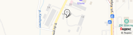 Теплоблок42 на карте Осинников