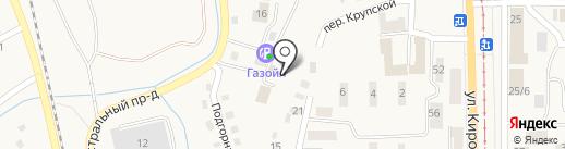 Питстоп на карте Осинников