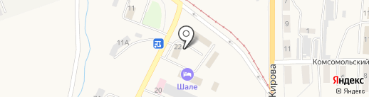Бета на карте Осинников