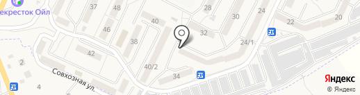 Калина на карте Осинников