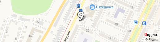Берёзка на карте Осинников