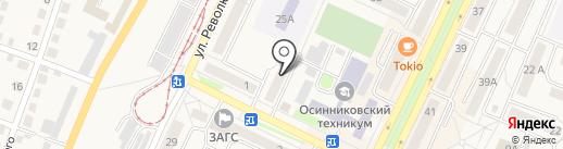 Радио РИО на карте Осинников