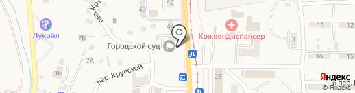 Осинниковский городской суд на карте Осинников