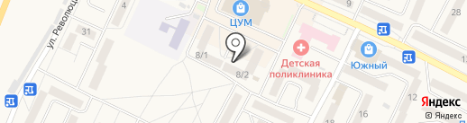 Аларма на карте Осинников