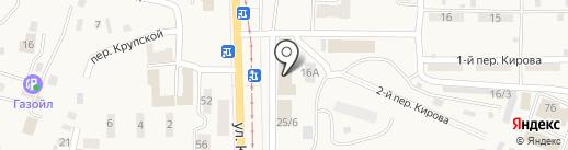 Автосервис на карте Осинников