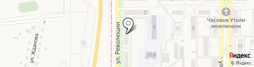 Центральная городская библиотека на карте Осинников