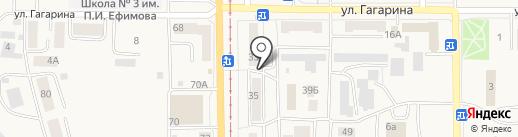 Сервисный центр на карте Осинников