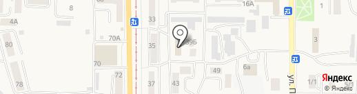 Лазурит на карте Осинников