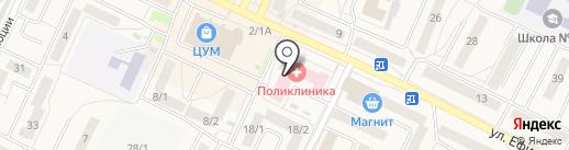 Поликлиника на карте Осинников