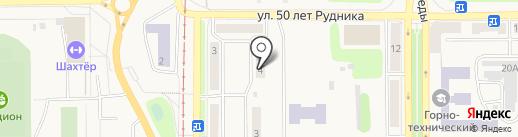 Лицензионно-разрешительной отдел МВД России по г. Осинники на карте Осинников