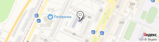 Детский сад №54, Малыш на карте Осинников