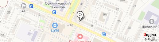 Столичная Аптека на карте Осинников