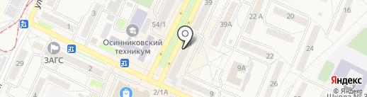 Электрика на карте Осинников