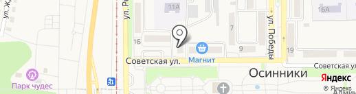 Управление социальной защиты населения Администрации Осинниковского городского округа на карте Осинников