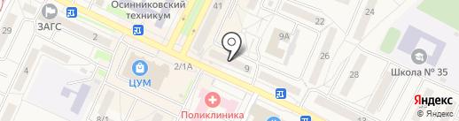 Аптека.ру на карте Осинников