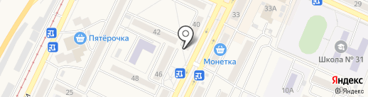 Участковый пункт полиции Осинниковский, Управление МВД России по г. Новокузнецку на карте Осинников