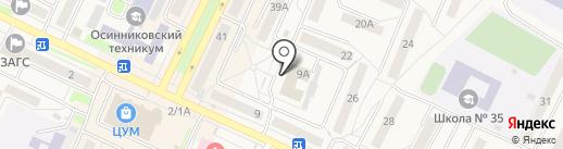 Феникс на карте Осинников