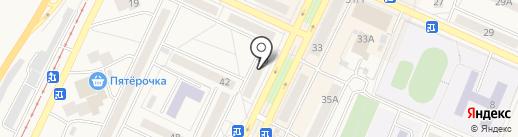 Компания УЮТ на карте Осинников