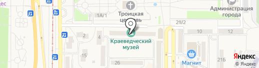Осинниковский краеведческий музей на карте Осинников