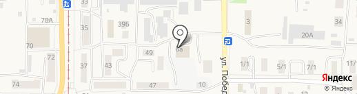 Мастер на карте Осинников