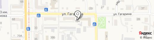 Магазин автотоваров на карте Осинников