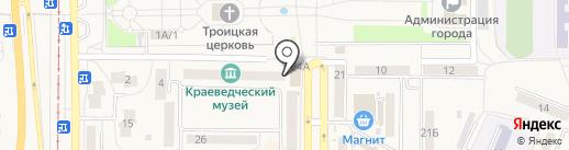 Колизей на карте Осинников