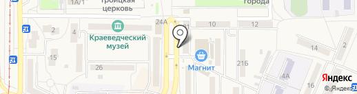 Банкомат, Кузнецкбизнесбанк на карте Осинников